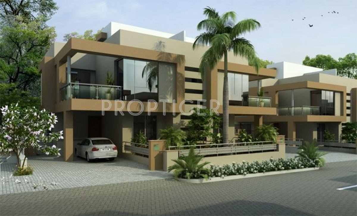 Kolte patil life republic twin bungalows life republic for Twin bungalow plans